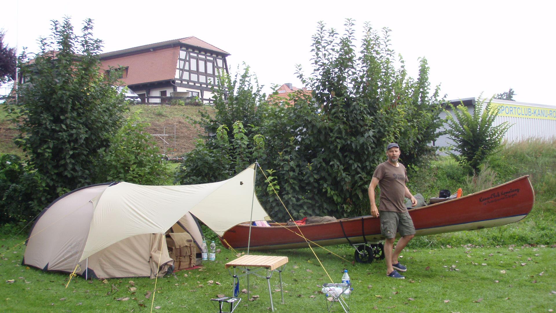 Vater Und Sohn Elbetour Kanu Club Konstanz