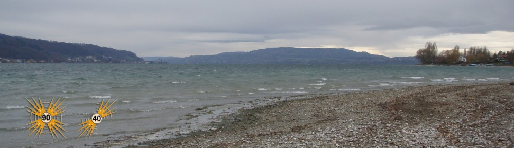 Sturmwarnung auf dem Bodensee