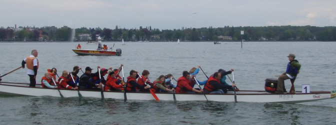 Vorankündigung Schweiz bewegt (Drachenboot)
