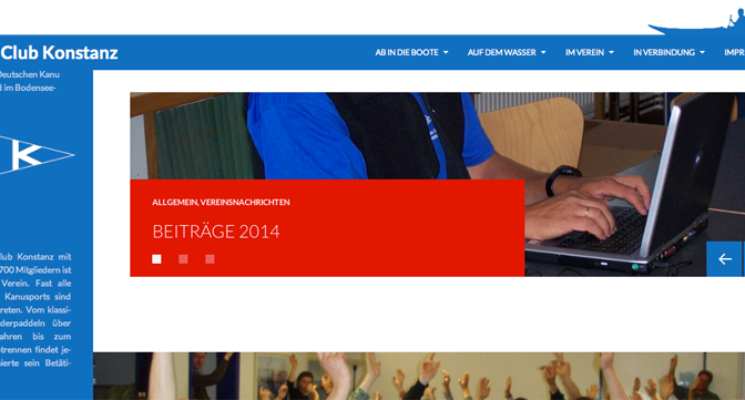 Neue Webpräsenz